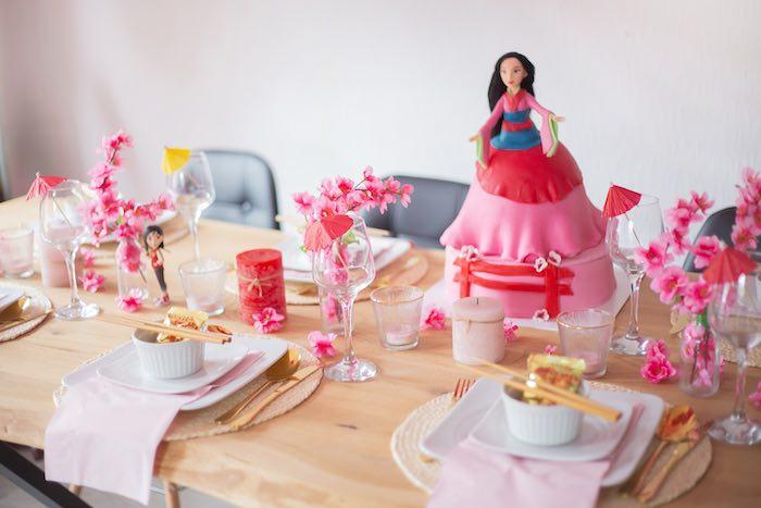 Mulan Birthday Party on Kara's Party Ideas | KarasPartyIdeas.com
