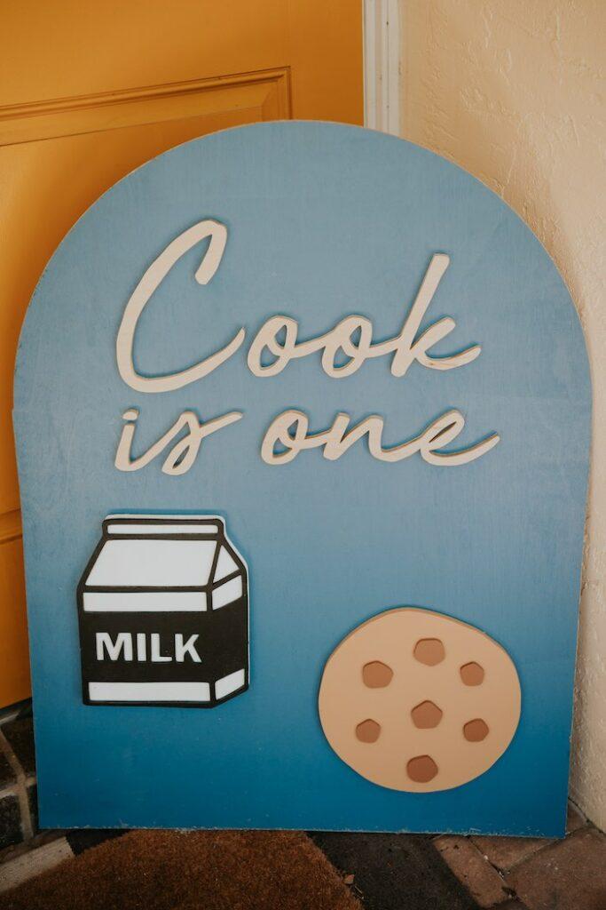 Neutral Modern Milk & Cookies Party on Kara's Party Ideas | KarasPartyIdeas.com