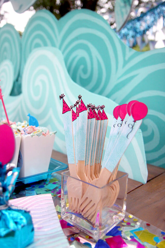 Party Like a Narwhal Birthday Party on Kara's Party Ideas   KarasPartyIdeas.com