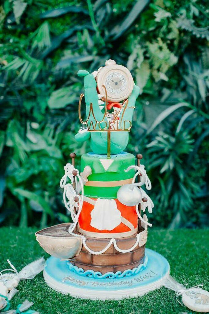 Peter Pan + Neverland Inspired Birthday Party on Kara's Party Ideas | KarasPartyIdeas.com