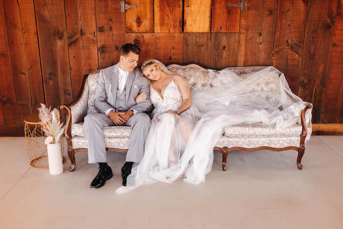 Rustic Boho Wedding on Kara's Party Ideas | KarasPartyIdeas.com