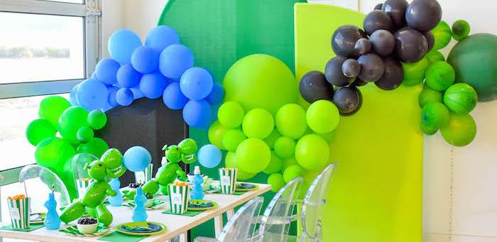 Squeakee The Dino Party Dinosaur Party Ideas and Birthday Gift Idea by Kara's Party Ideas-42