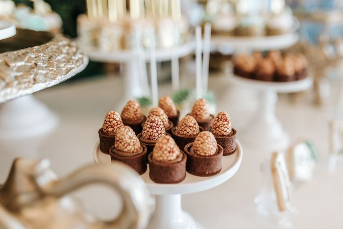 Desserts from a Wild ONE First Birthday Party on Kara's Party Ideas | KarasPartyIdeas.com