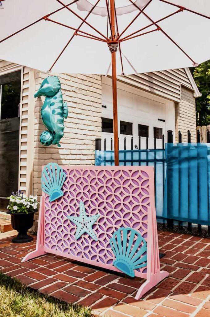 Under the Sea Birthday Party on Kara's Party Ideas   KarasPartyIdeas.com
