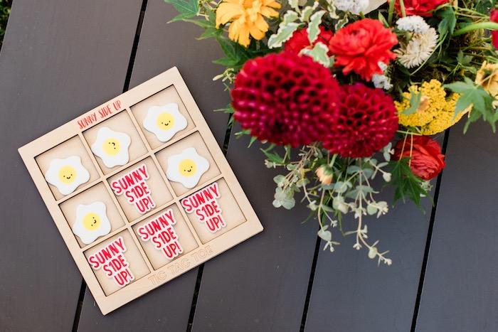 """Sunny Side Up"" Breakfast Birthday Party on Kara's Party Ideas | KarasPartyIdeas.com"