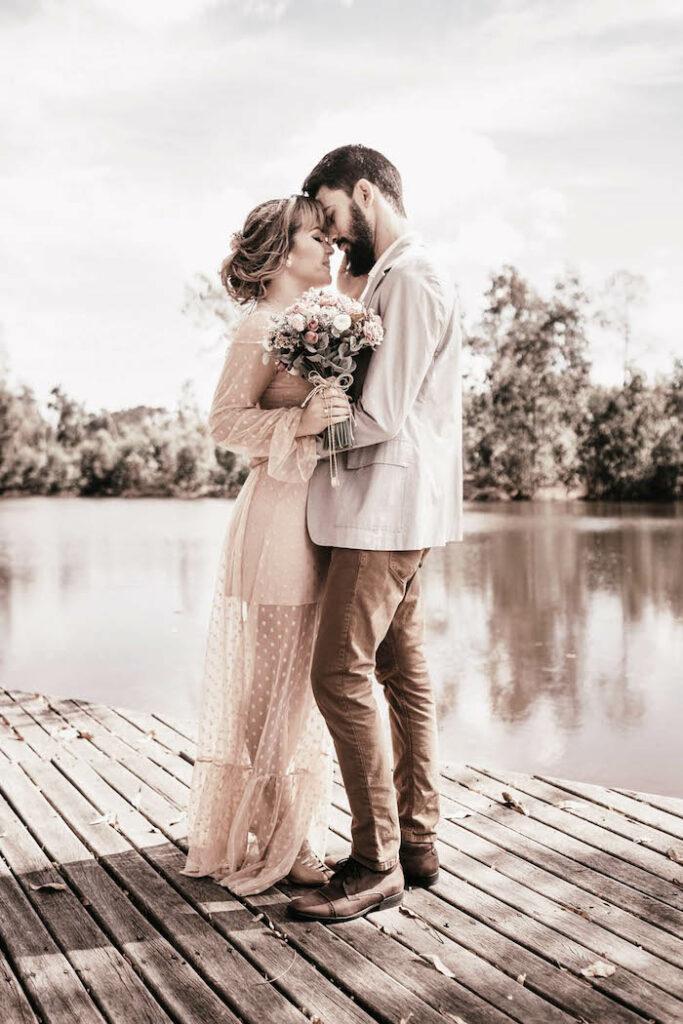 LovBe Proposal Planning Kissing Couple on Kara's Party Ideas | KarasPartyIdeas.com 3