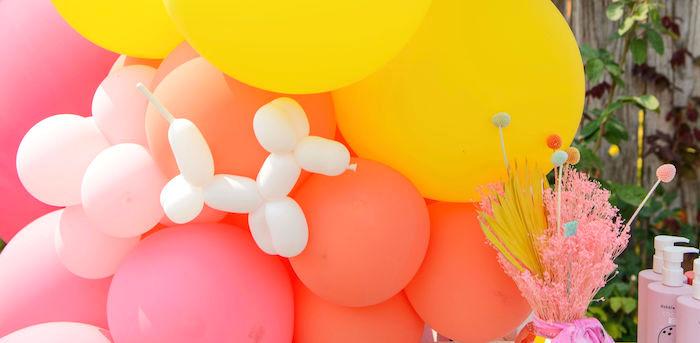 Colorful Nostalgic Birthday Party on Kara's Party Ideas   KarasPartyIdeas.com