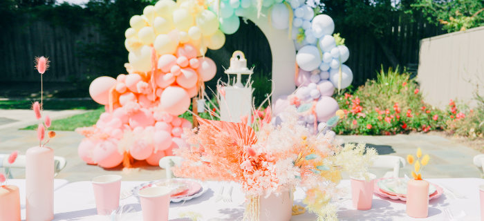 Pastel Rainbow Unicorn Party on Kara's Party Ideas | KarasPartyIdeas.com