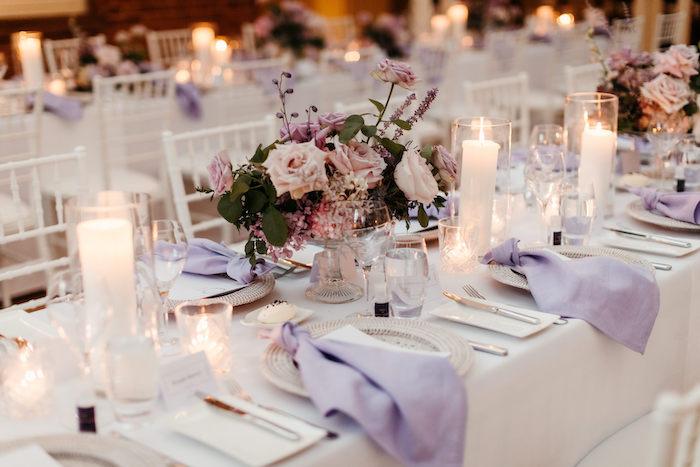Romantic & Elegant Garden Wedding on Kara's Party Ideas   KarasPartyIdeas.com