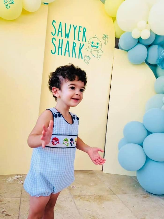 Baby Shark Birthday Party on Kara's Party Ideas | KarasPartyIdeas.com