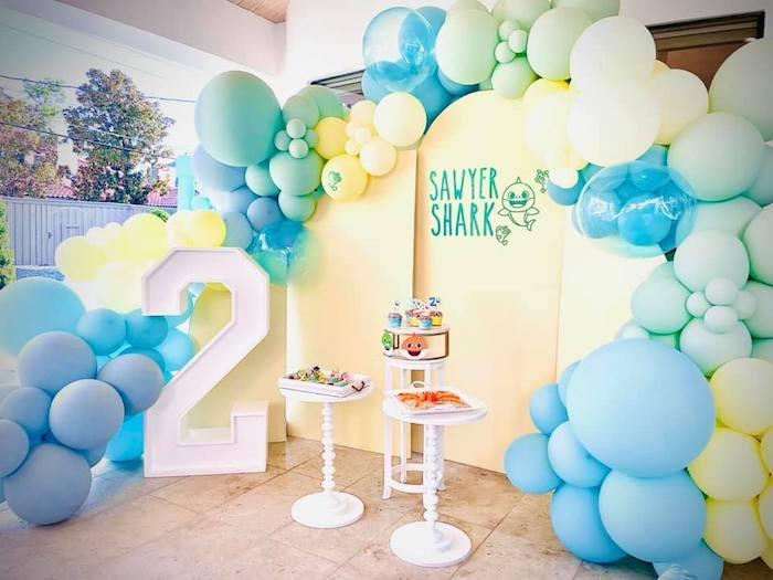 Baby Shark DessBaby Shark Birthday Party on Kara's Party Ideas | KarasPartyIdeas.com