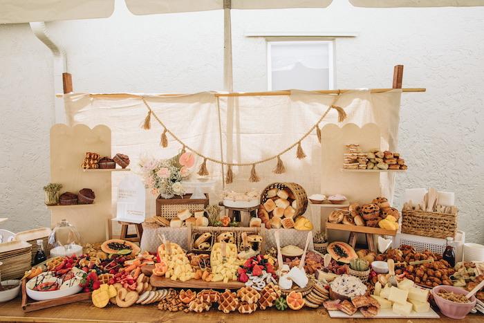 Boho Bridal Bash on Kara's Party Ideas | KarasPartyIdeas.com