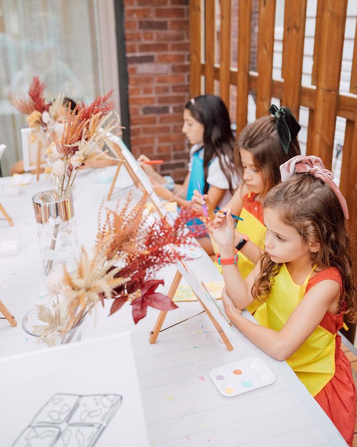 Boho Pastel Terrazzo Birthday Party on Kara's Party Ideas | KarasPartyIdeas.com