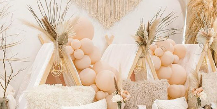 Chic Boho Spa Resort Birthday Party on Kara's Party Ideas   KarasPartyIdeas.com