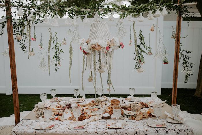 Dreamy Vintage Bridal Shower Picnic on Kara's Party Ideas   KarasPartyIdeas.com