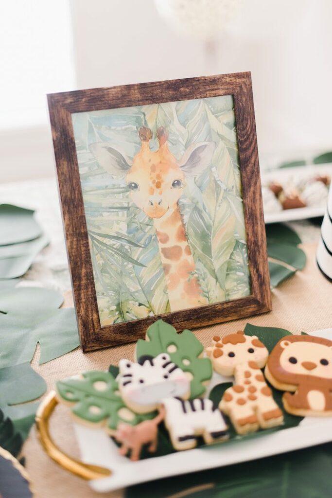 Glam Safari Birthday Party on Kara's Party Ideas | KarasPartyIdeas.com