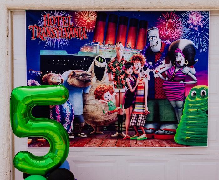 Hotel Transylvania Monster Cruise Summer-ween Party on Kara's Party Ideas   KarasPartyIdeas.com