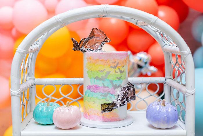 Pastel Halloween Party on Kara's Party Ideas   KarasPartyIdeas.com