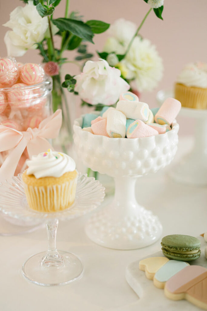Marshmallows from a TWO Sweet 2nd Birthday Party on Kara's Party Ideas | KarasPartyIdeas.com