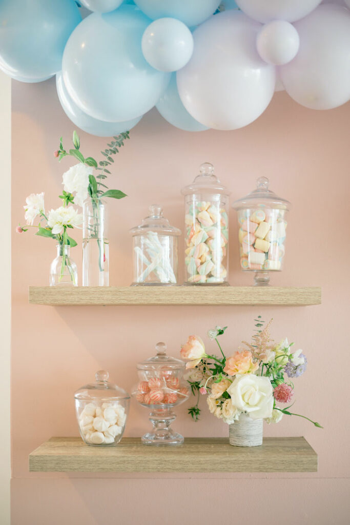 Candy Buffet from a TWO Sweet 2nd Birthday Party on Kara's Party Ideas | KarasPartyIdeas.com