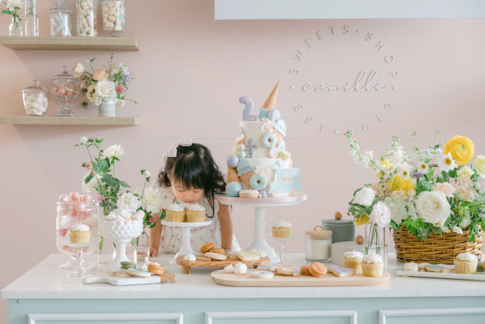 TWO Sweet 2nd Birthday Party on Kara's Party Ideas | KarasPartyIdeas.com
