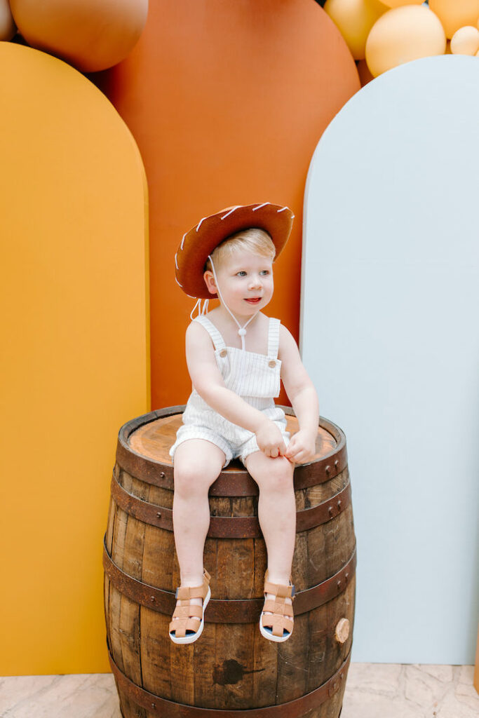 Toy Story Inspired Cowboy Roundup Party on Kara's Party Ideas | KarasPartyIdeas.com