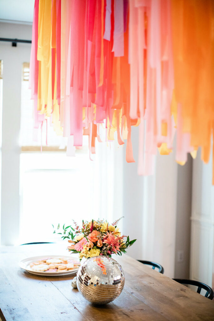 """Party Table from a Groovy """"Young, Wild and THREE"""" Party on Kara's Party Ideas 