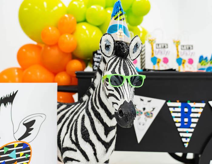 Party Animal Birthday Party on Kara's Party Ideas   KarasPartyIdeas.com
