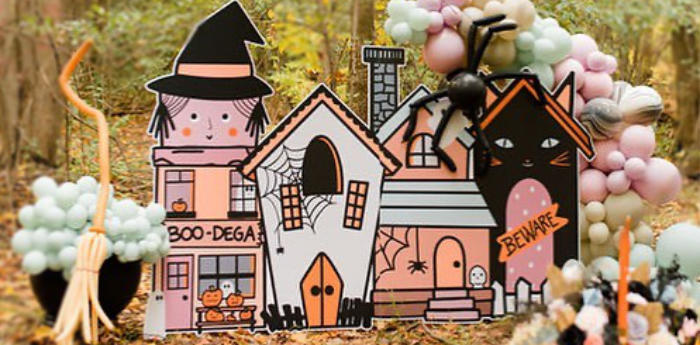 Pastel Spookyville Halloween Picnic Party on Kara's Party Ideas | KarasPartyIdeas.com