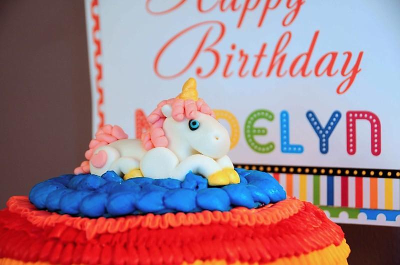 kara u0026 39 s party ideas rainbow unicorn 7th birthday party