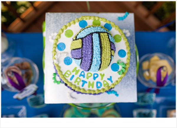 Kara S Party Ideas Volleyball Themed 13th Birthday Party