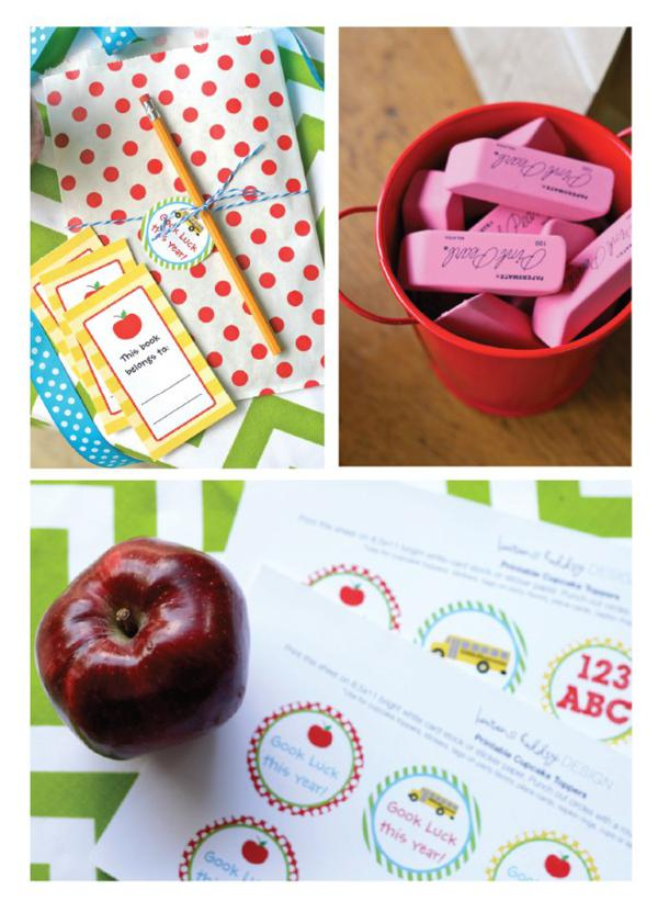 Back to School gift  ideas + teacher gift ideas via KarasPartyIdeas.com