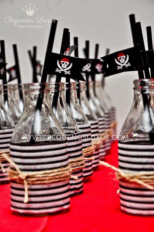 Оформление для пиратской вечеринки своими руками