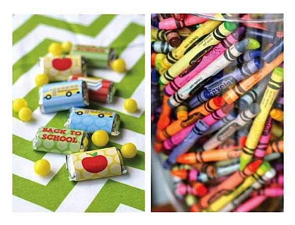 Back to School gift  ideas + teacher gift ideas via KarasPartyIdeas.com