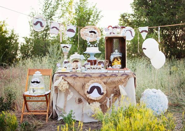 Decoracion Retro Fiesta ~ Kara s Party Ideas Little Man + Mustache Mr Man Baby Shower Birthday