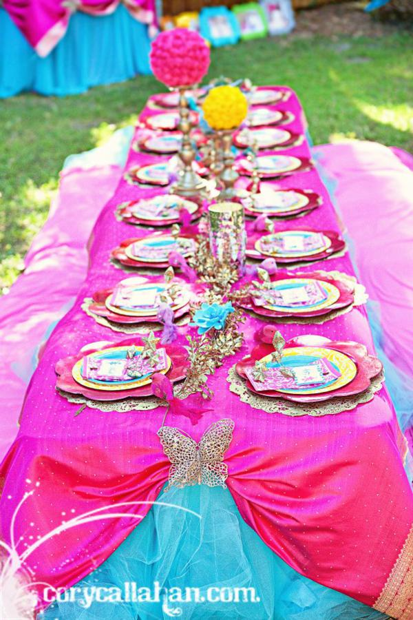 Kara S Party Ideas Fairy Themed Sisters Birthday Party