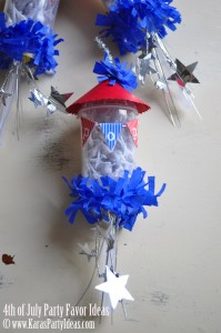 4th of july party favor firework childrens pops in push up pop container www.karaspartyideas.com bbq ideas