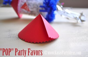 4th of july party favor firework childrens pops in push up pop container www.karaspartyideas.com top