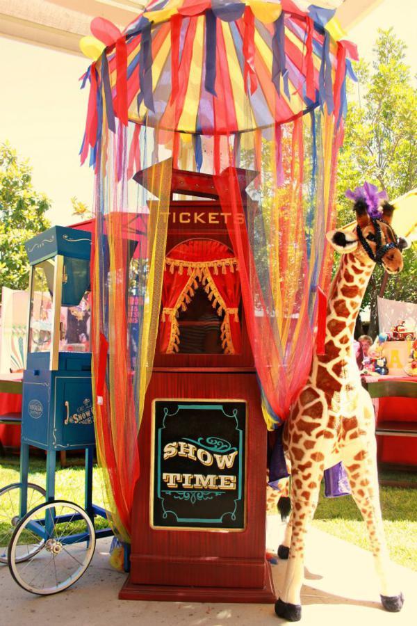Kara S Party Ideas Circus Carnival Extravaganza Birthday