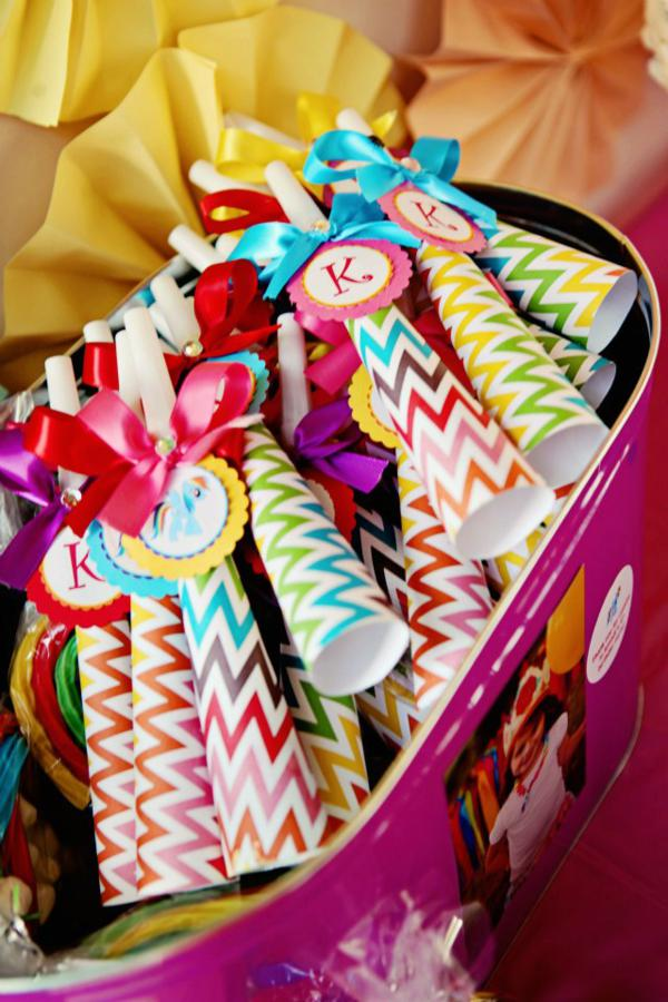 Kara S Party Ideas Rainbow Dash My Little Pony Chevron