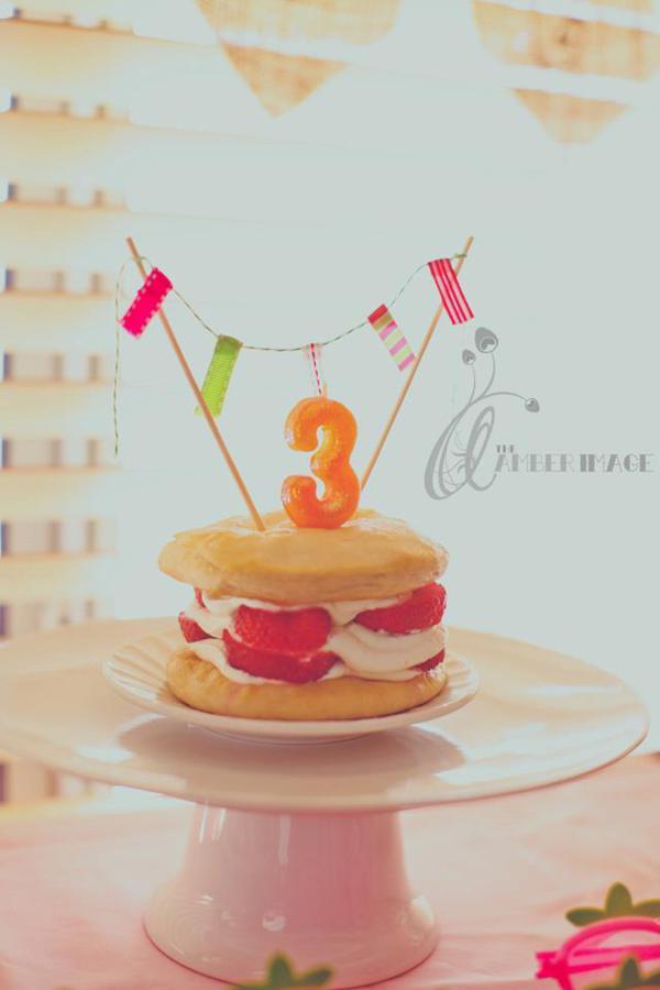 Kara S Party Ideas Strawberry Shortcake 3rd Birthday Party