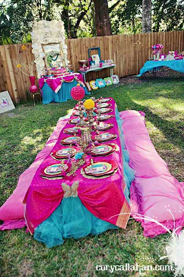Karas Party Ideas Fairy Themed Sisters Birthday