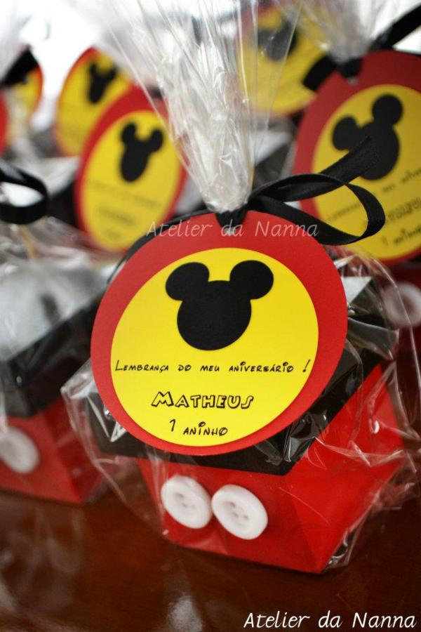 Kara\'s Party Ideas Mickey Mouse Themed Birthday Party | Kara\'s Party ...