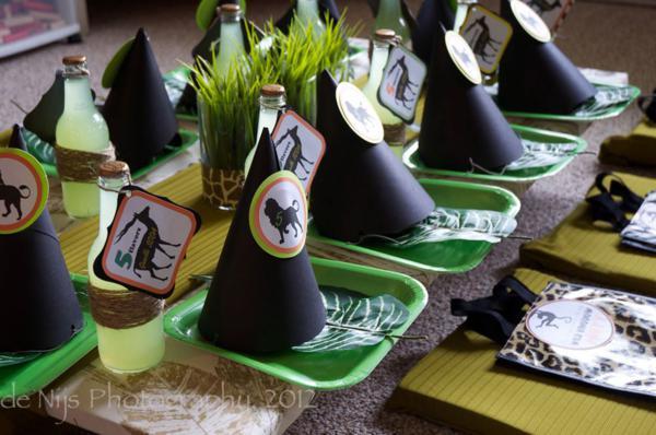 Kara S Party Ideas Wild Kingdom 5th Birthday Jungle Party