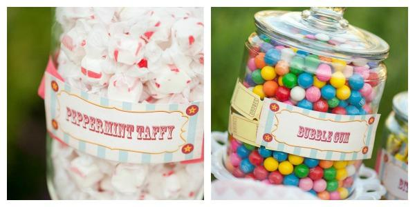 Candy Wedding Favors 64 Vintage Items