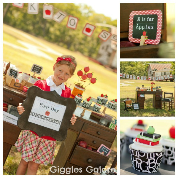 Kara's Party Ideas Back To School Party!