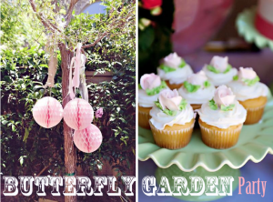 Butterfly Garden Birthday Party via www.KarasPartyIdeas.com