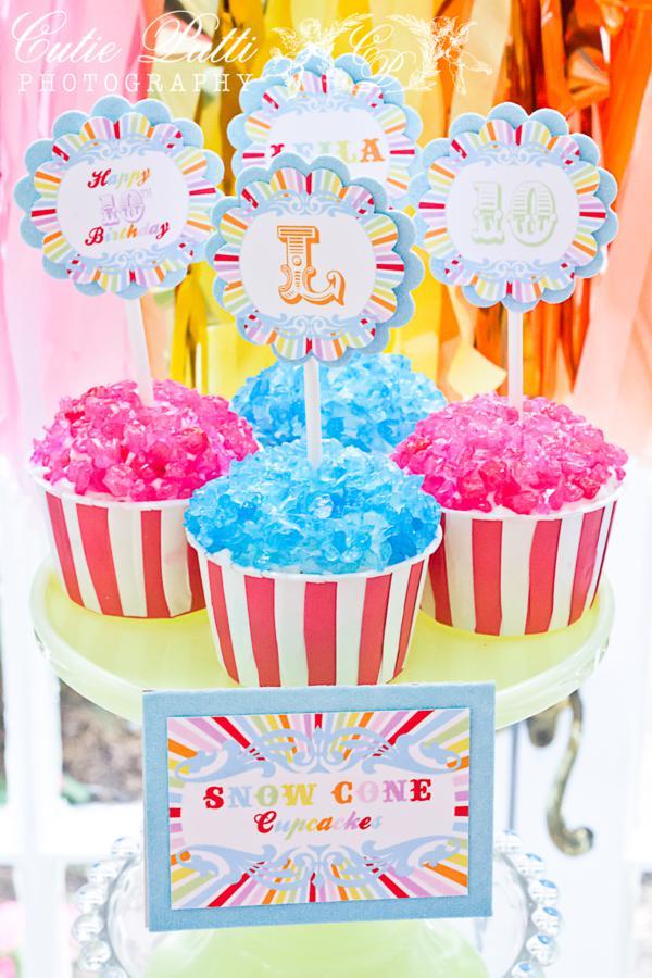 kara s party ideas coney island vintage carnival circus clown boy