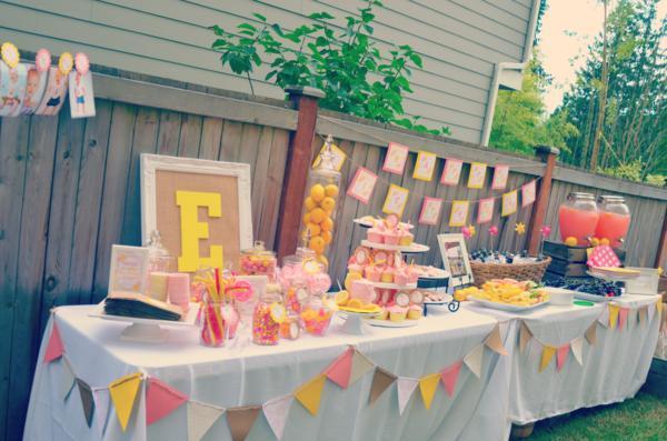 Karas Party Ideas Lemonade Stand 1st Birthday