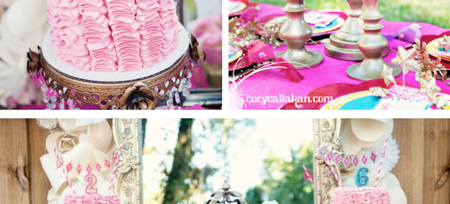 Fairy Themed Birthday Party via Kara's Party Ideas